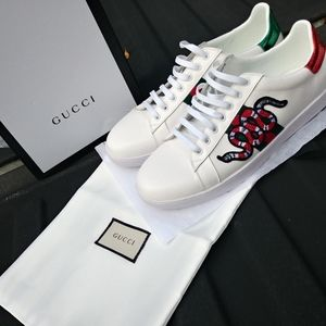 Gucci snake sneakers size 12